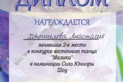 2016-11-19 Хорошилова 2 место