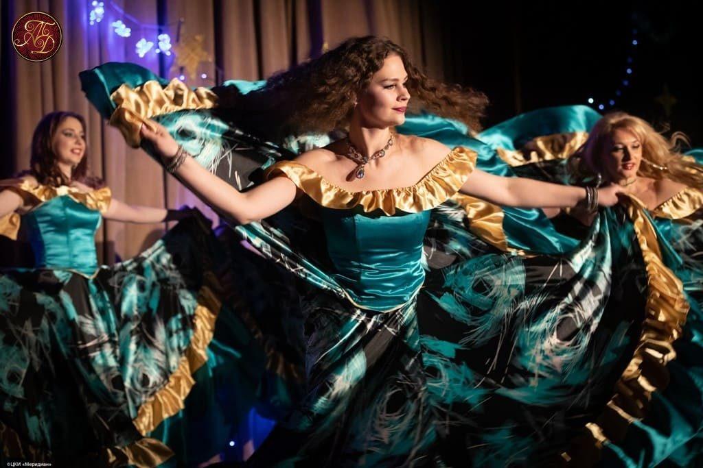 Цыганский танец Ансамбль