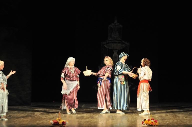 """Ливийский танец в спектакле """"Источник жизни"""""""