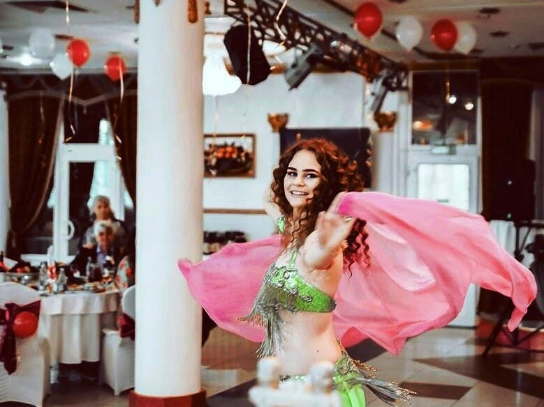 Дарья Павлова на свадьбе