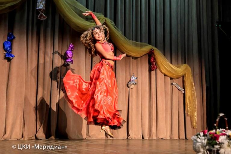 Анастасия Хорошилова. Ансамбль Театра восточного танца Аль-Джана