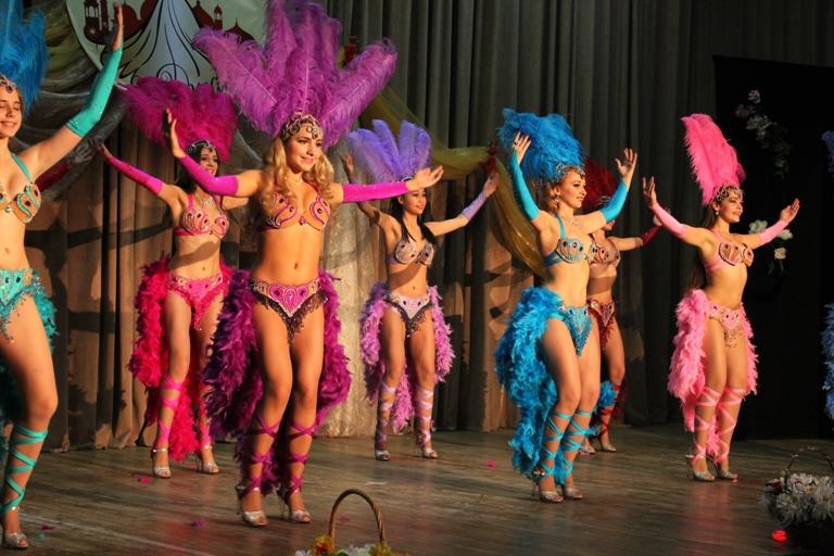Бразильский танец. Ансамбль Театра танца Аль-Джана
