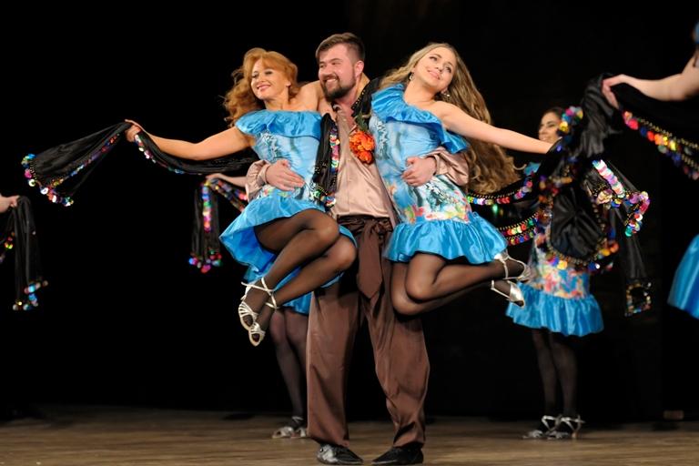 Андрей Алексеев и Ансамбль Театра танца Аль-Джана