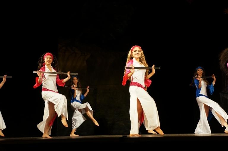 Ансамбль театра Аль-Джана. Танец саиди