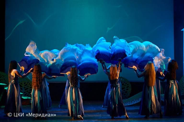 """Ансамбль Театра танца """"Аль-Джана"""" в спектакле Меридиана """"Снова за синей птицей"""""""
