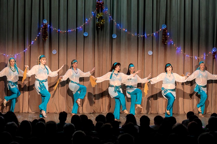 Дабка группа Айсель Театра танца Аль-Джана