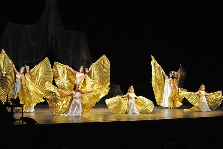 Детская группа Театра танца Аль-Джана