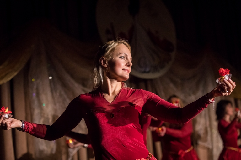 Группа Наргиз 14-летие Театра восточного танца Аль-Джана