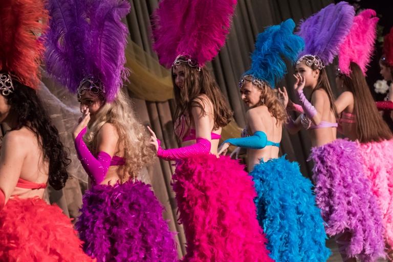 Бразильский танец Саиди с 2мя тростями 14-летие Театра восточного танца Аль-Джана