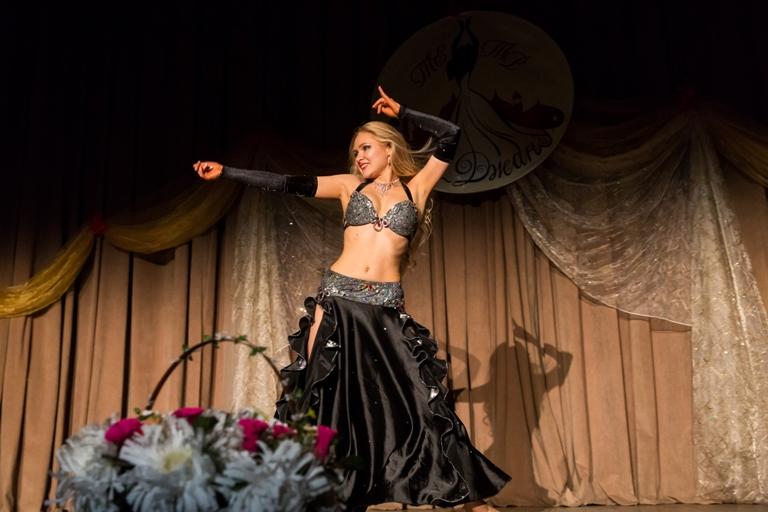 Анна Ечкина 14-летие Театра восточного танца Аль-Джана