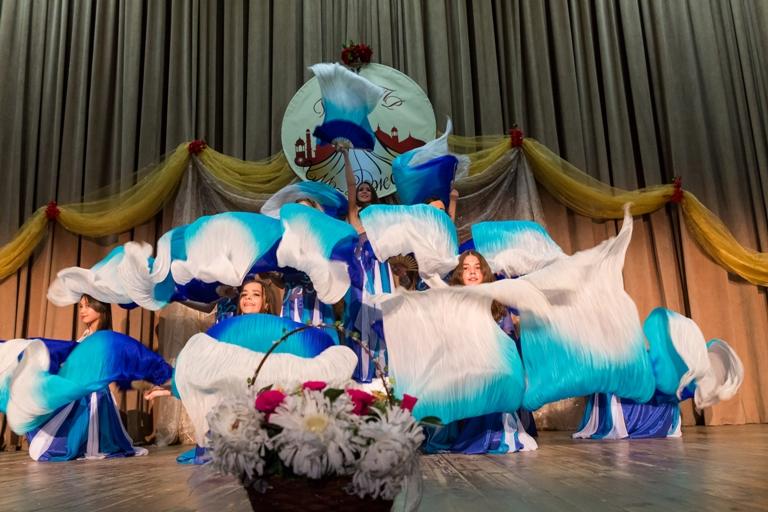 """Танец """"Гимн воде"""" 14-летие Театра восточного танца Аль-Джана"""
