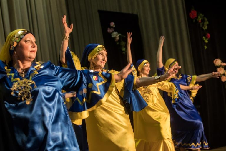 Нубийский танец Группа Наргиз 14-летие Театра восточного танца Аль-Джана