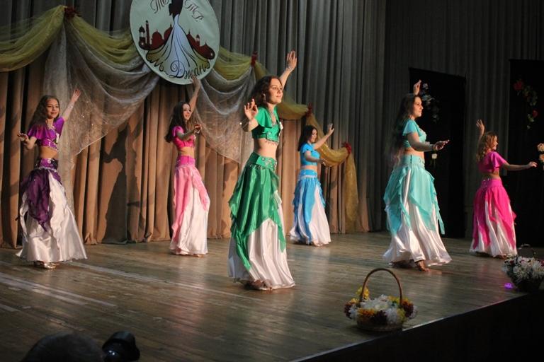 Группа Джанэт14-летие Театра восточного танца Аль-Джана