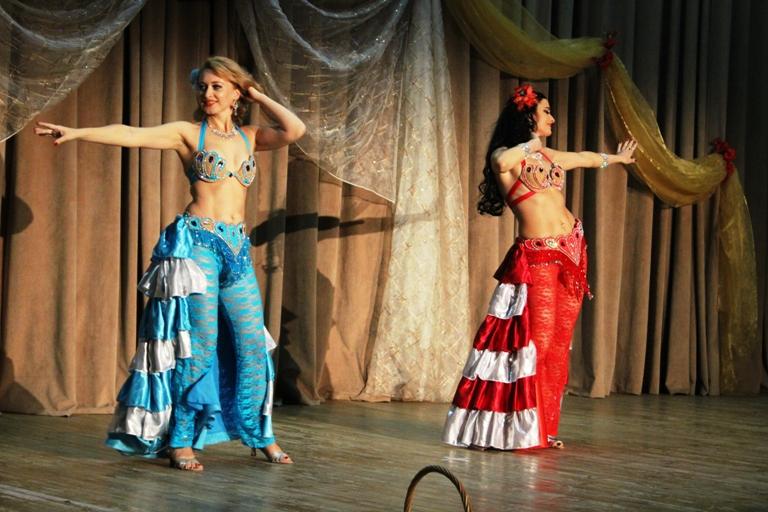 Олеся Чернышова и Нана Силагадзэ 14-летие Театра восточного танца Аль-Джана