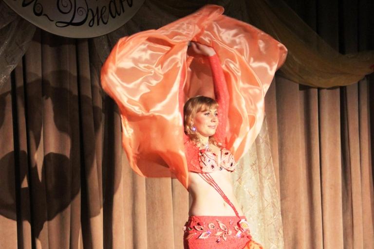 Светлана Конова 14-летие Театра восточного танца Аль-Джана