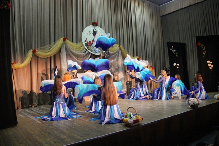 """Танец """"Гимн воде"""" Олеся Чернышова и Нана Силагадзэ 14-летие Театра восточного танца Аль-Джана"""