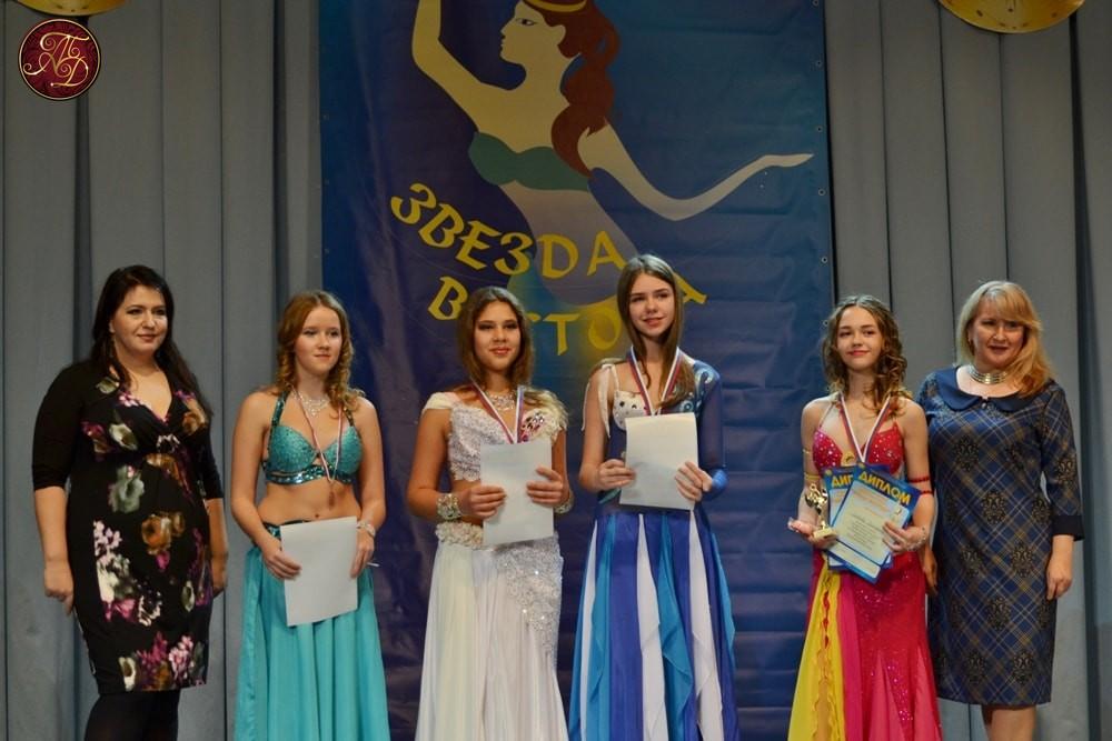 Анна Корюш и Мария Лобкова на конкурсе