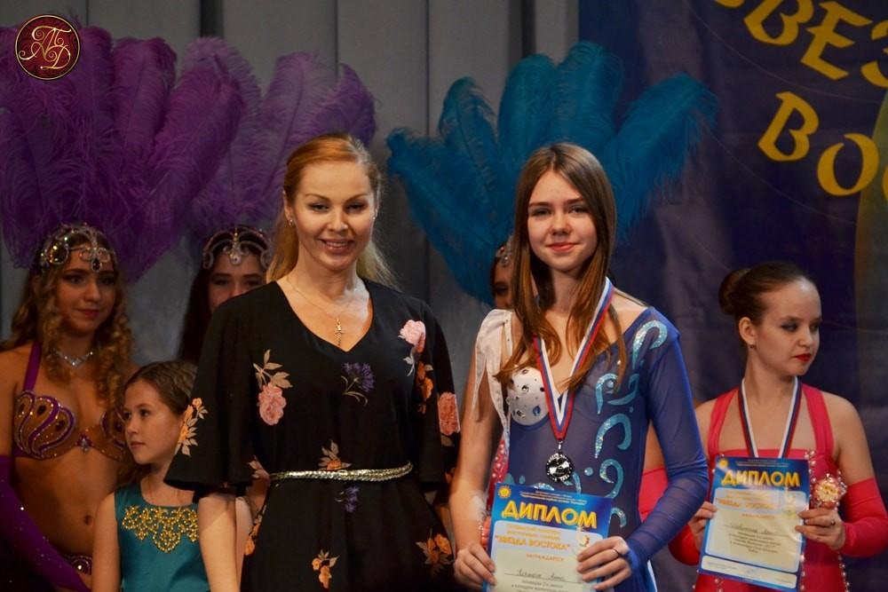 Анна Корнюш на конкурсе