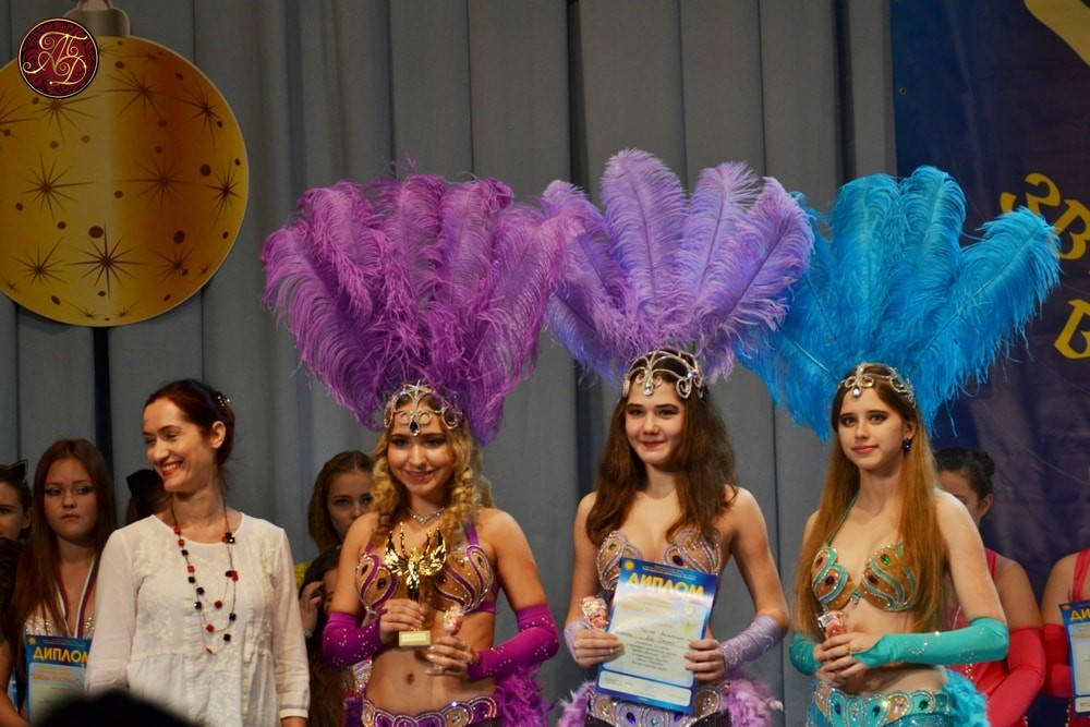 Бразильский танец на конкурсе Звезда востока