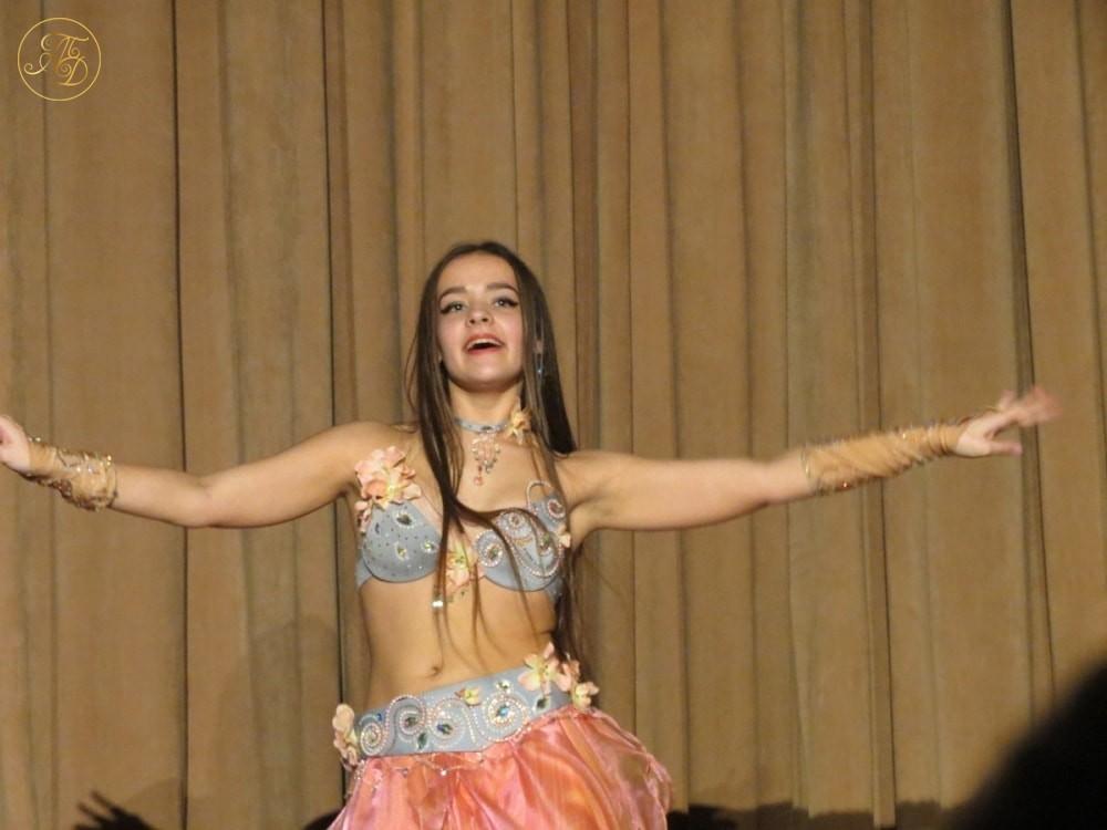 """Ксения Варкова. Концерт Театра танца """"Аль-Джана"""" Новогодние радости."""