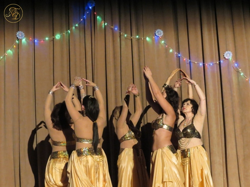 """Группа """"Айсель"""". Концерт Театра танца """"Аль-Джана"""" Новогодние радости."""