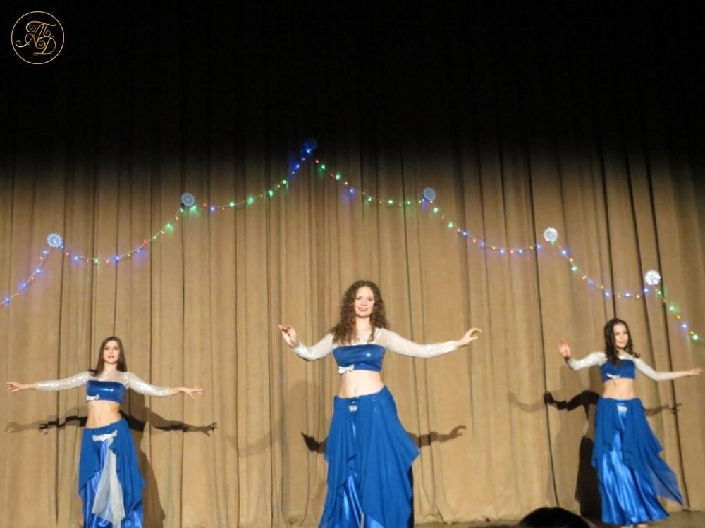 """Танец """"Салма"""". Концерт Театра танца """"Аль-Джана"""" Новогодние радости."""