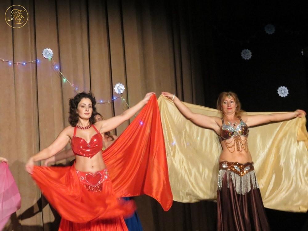 """Концерт Театра танца """"Аль-Джана"""" Новогодние радости."""