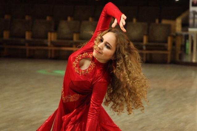 """восточные танцы ТВТ """"Аль-Джана"""": Анастасия Хорошилова на конкурсе Данс Фест"""