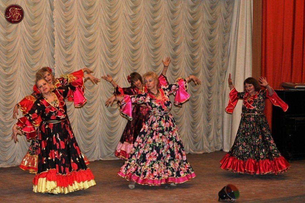 """восточные танцы ТВТ """"Аль-Джана"""": концерт для ветеранов - цыгане"""