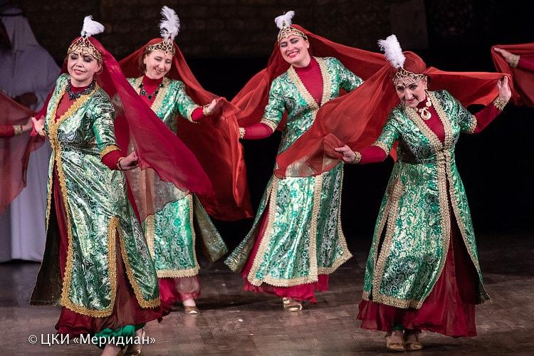"""""""Аурика"""" - спектакль ТВТ """"Аль-Джана"""": персидский танец"""