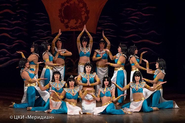 """""""Аурика"""" - спектакль ТВТ """"Аль-Джана"""": танец """"Легенда о фараонах"""""""