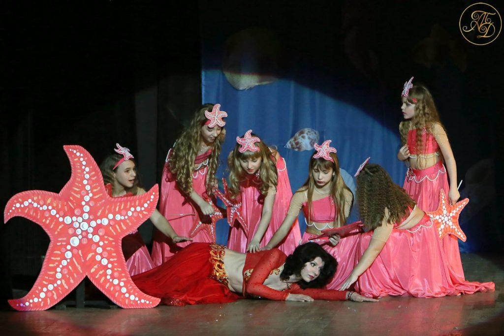 Спектакль Аурика. Аурика и Морские звездочки