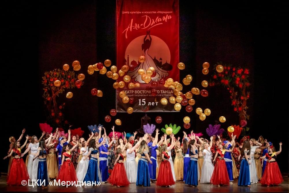 """Юбилейный концерт-сказка """"Феерия красоты"""". Финал"""