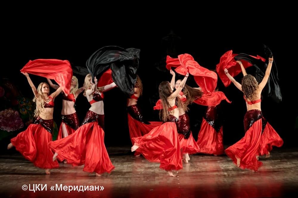 """Танец """"Эль-Хава"""". Юбилейный концерт-сказка """"Феерия красоты""""."""