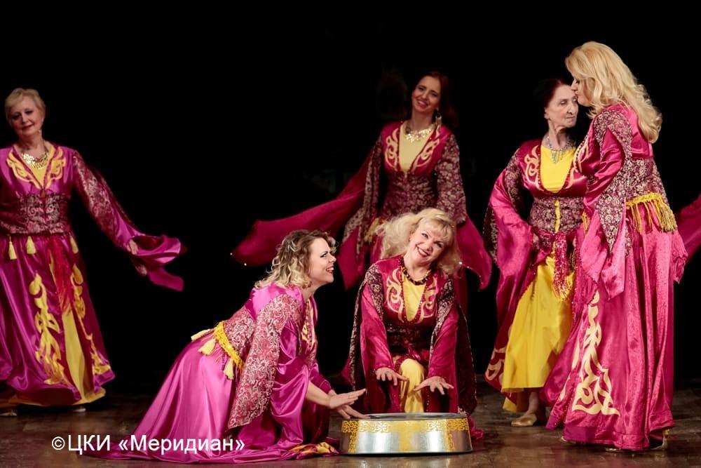 """Юбилейный концерт-сказка """"Феерия красоты"""". Марокканский анец"""