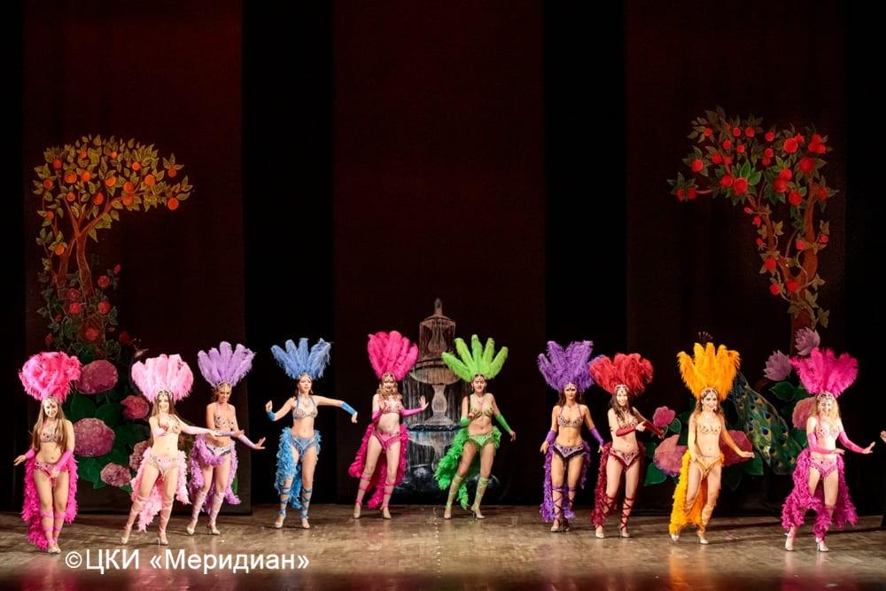 """Бразильский танец. Юбилейный концерт-сказка """"Феерия красоты""""."""