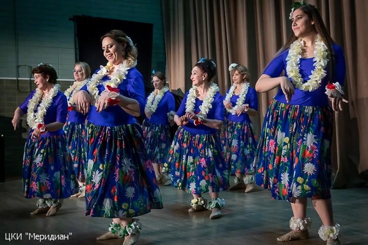 "Гавайский танец. Концерт ""Дружба народов"""