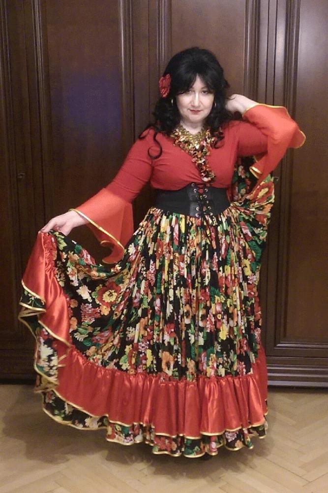 Марина Проценко. Цыганский он-лайн концерт