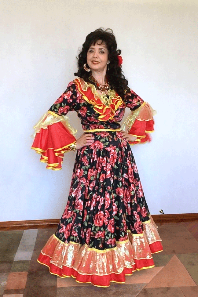 Татьяна Платонова. Цыганский онлайн концерт